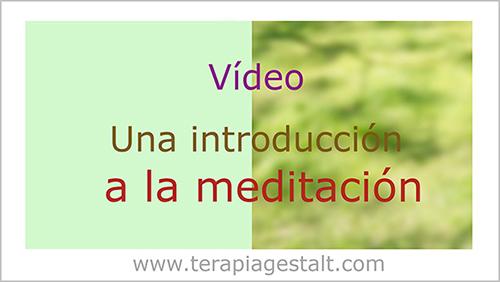 Vídeo: una introducción a la meditación