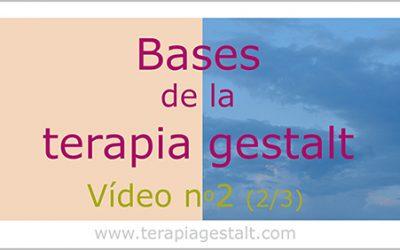 Vídeo 2: las bases de la terapia gestalt – Darse cuenta